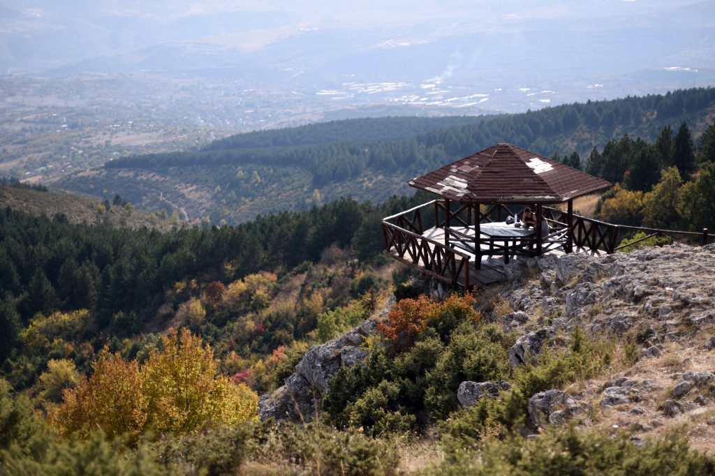 View from Vodno Mountain, Skopje