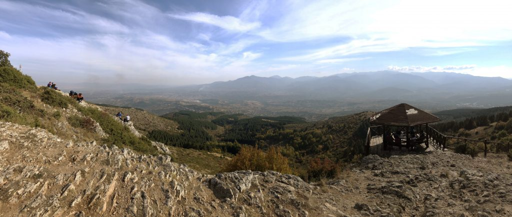View from Millennium Cross, Vodno Mountain, Skopje