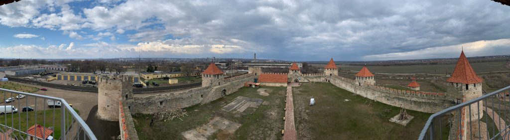 View from Bendery Fortress