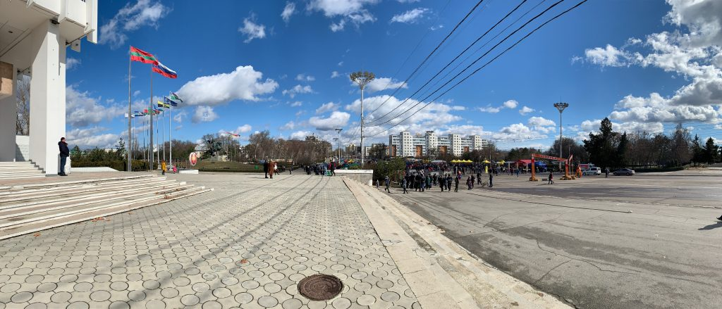 Tiraspol, Liberation Square
