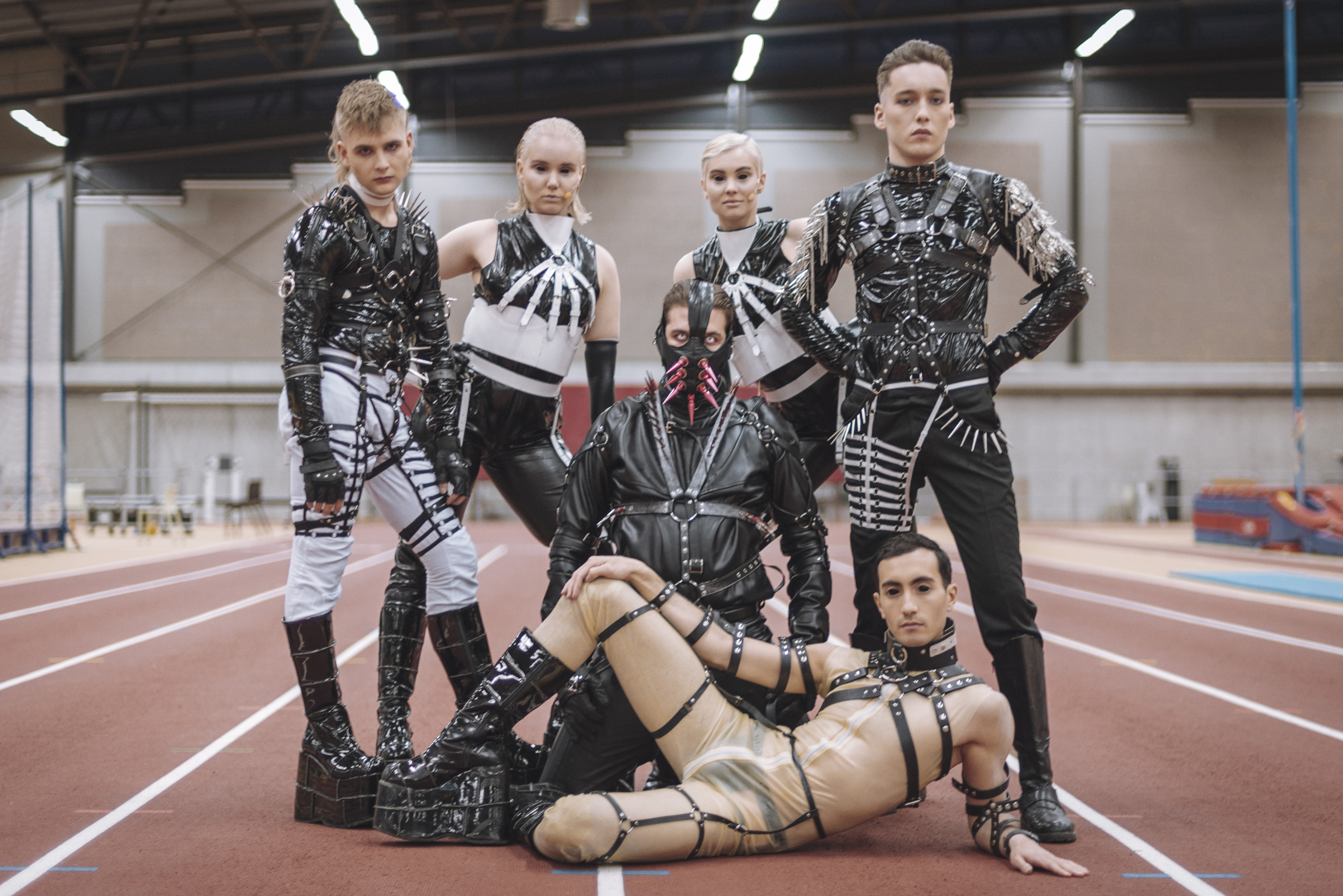 Iceland's Hatari: 'We're the pink elephant in the room'